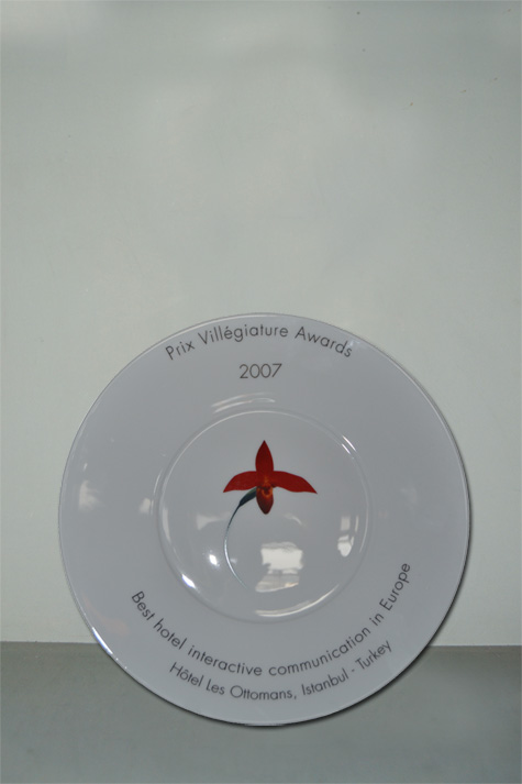 2007 - THE VILLEAGIATURE AWARD - BEST HOTEL INTERACTIVE COMMUNICATION IN EUROPE
