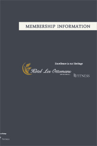 Gym Membership Information